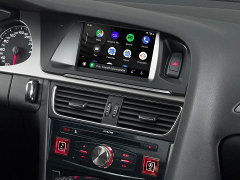 Audi-A4-Navigation-System-X703D-A4-with-Android-Auto-Menu