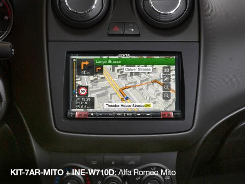 Navigation-in-Alfa-Romeo-MITO_INE-W710D_with_KIT-7AR-MITO