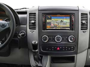 Alpine Style | Navigation System for Mercedes Sprinter 906 - X800D-S906