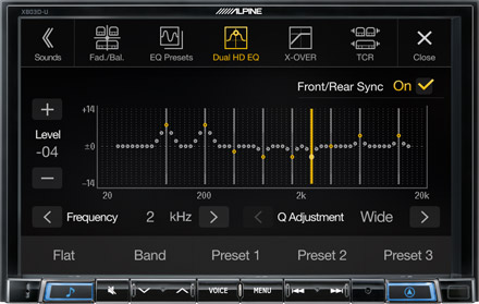 High-end Sound Tuning Options - X803DC-U