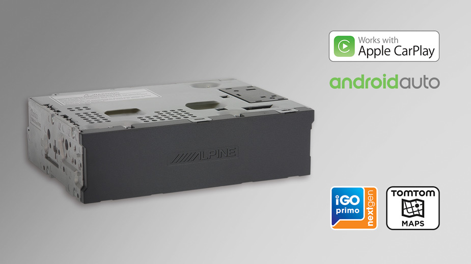 X903D-EX - Media Box with TomTom maps, compatible with Apple CarPlay and Android Auto