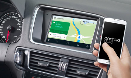 7-inch Touch Screen Navigation for Audi Q5 with TomTom maps