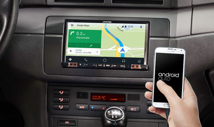 Online Navigation with Android Auto - iLX-702E46