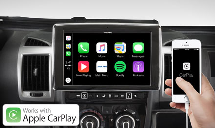 Ducato, Jumper and Boxer - Works with Apple CarPlay - X902D-DU