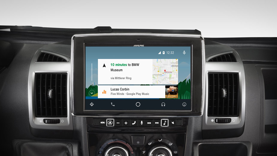 Alpine Style Navigation Designed for Ducato, Jumper and Boxer - i902D-DU