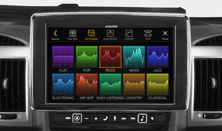 Ducato, Jumper and Boxer - Sound Pre-sets  - i902D-DU