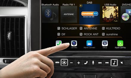 Ducato, Jumper and Boxer - Easy camera access