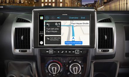 Ducato, Jumper and Boxer - Extra large 23cm (9-inch) touch screen - i902D-DU