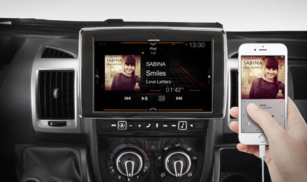 Ducato, Jumper and Boxer - One Look Display