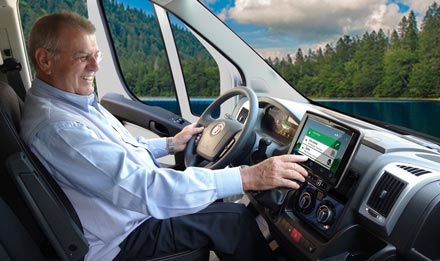 Ducato, Jumper and Boxer - Easy to reach from the driver's seat - i902D-DU