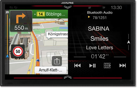 Freestyle 9-inch Navigation System for custom installation