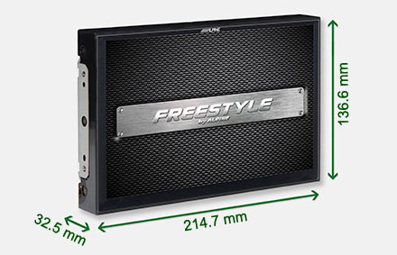 Freestyle solution for custom installs - Navigation System X903DC-F