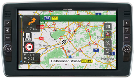 Iveco Daily - Navigation - Plan Your Route  - X903D-ID