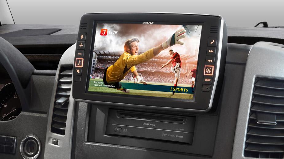 Mercedes Sprinter - Big Screen Entertainment - X903D-S906